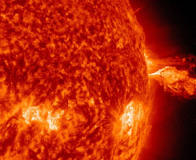 Watch: Our living, breathing sun