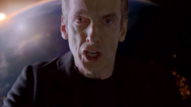 Doctor Who: Peter Capaldi is one scary Timelord in new series 8 teaser trailer